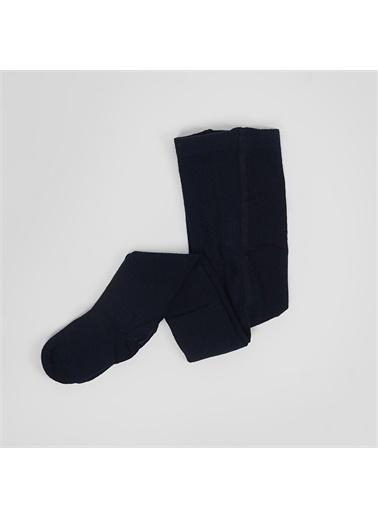 Panço Kız Çocuk Külotlu Çorap 2022GK11001 Lacivert